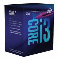 Processeur INTEL Core i3-8100 (1151)