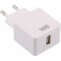 Chargeur secteur WE CONNECT 1 USB 2.4A