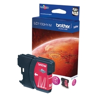 Cartouche d'encre BROTHER LC1100HYM Magenta