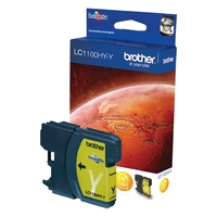 Cartouche d'encre BROTHER LC1100HYY Yellow