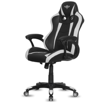 Fauteuil Gaming SOG Fighter Blanc Noir