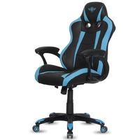 Fauteuil Gaming SOG Fighter Bleu Noir