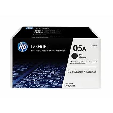 Consommables informatique toner HP 05A Noir Pack de 2 infinytech réunion