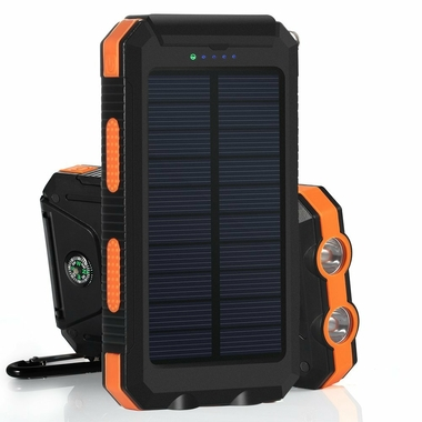 Accessoires téléphonie powerbank solaire 10 000 mAh infinytech Réunion 1