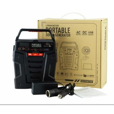 Générateur de secours solaire portable S381 75 000 mah 100Wh infinytech Réunion 3