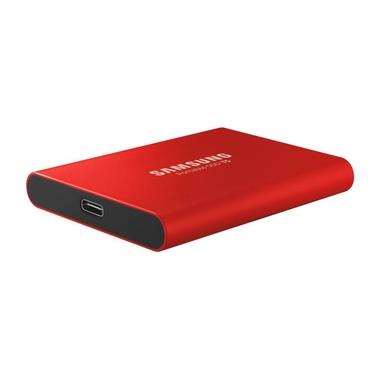 Matériels informatique disque dur externe SSD SAMSUNG T5 500 Go Rouge infinytech Réunion 1