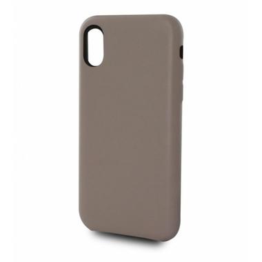 Accessoires téléphonie coque en cuir MOOOV pour Iphone X et XS Beige infinytech Réunion 1