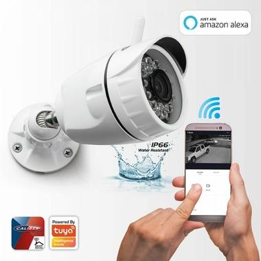 Matériels vidéo caméra extérieure CALIBER HWC401 1080p Wi-Fi infinytech Réunion 1