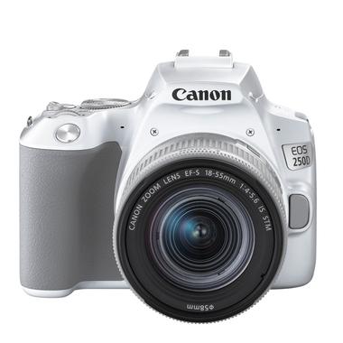 Matériels photo CANON EOS 250D Blanc avec 18-55 mm IS STM infinytech Réunion 1