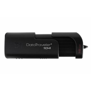 Matériels informatique clé USB 2.0 KINGSTON Datatraveler 104 Noire 16 Go infinytech Réunion 2