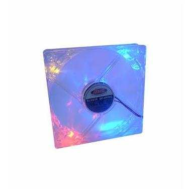 Matériels informatique ventilateur HEDEN 8cm transparent lumineux infinytech Réunion 1