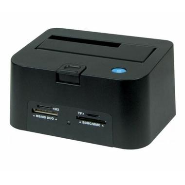 Matériels informatique Dock USB 2.0 SATA pour 1 SSD HDD avec lecteur de cartes infinytech Réunion 1