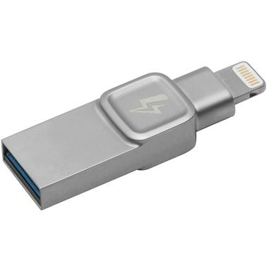 Matériels informatique clé USB Lightning KINGSTON BOLT Duo 32 Go Argent infinytech Réunion 1
