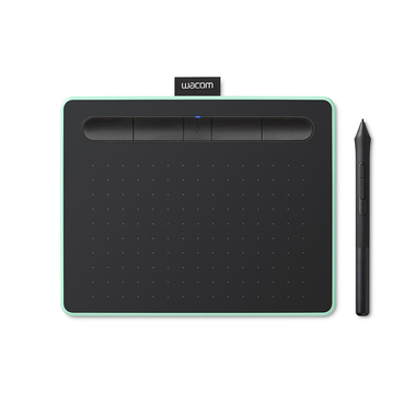 Matériels informatique tablette graphique WACOM Intuos Medium Bluetooth Pistache infinytech Réunion 1