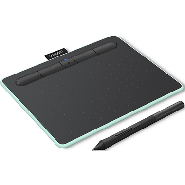 Matériels informatique tablette graphique WACOM Intuos Comfort S Bluetooth Verte infinytech Réunion 1