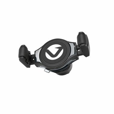 Accessoires téléphonie chargeur à induction pour voiture VOLKANO CLASP Serie VK-8022-GR infinytech Réunion 1