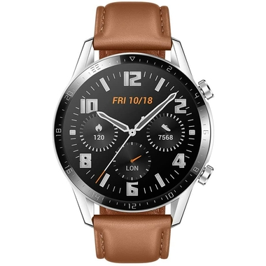Montre connectée HUAWEI Watch GT2 Brown infinytech Réunion 1