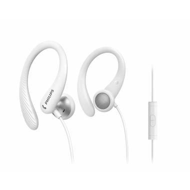 Matériels audio écouteurs sport PHILIPS TAA1105WT Filaire Blanc infinytech Réunion 1