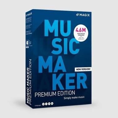Logiciels informatique MAGIX Music Maker 2021 Premium Edition infinytech Réunion 1
