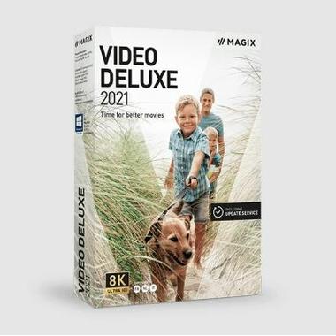 Logiciels informatique MAGIX Video Deluxe 2021 infinytech Réunion 1