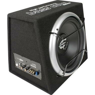 Matériels audio subwoofer actif pour auto 600W CALIBER Audio Technology BC112SA infinytech Réunion 1