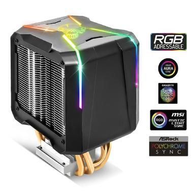 Matériels informatique ventirad SPIRIT OF GAMER AIRCOOLER PRO ARGB SOG-VR-RGB120A infinytech Réunion 1