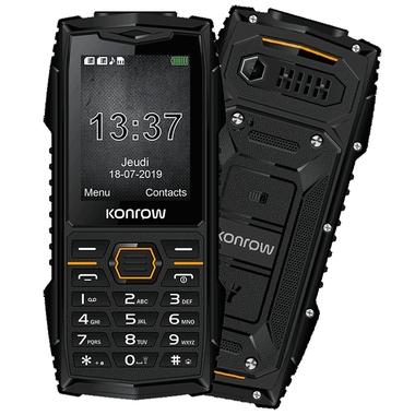 Téléphonie mobile GSM KONROW STONE PLUS Noir infinytech Réunion 1