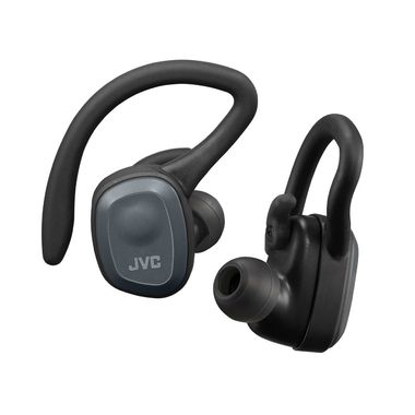 Matériels audio écouteurs sport sans fil JVC HAET45TP-B Noir infinytech Réunion 01