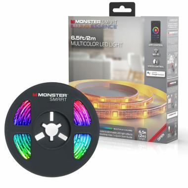 Bande lumineuse LED multicolore Smart Wifi 2M infinytech Réunion 1