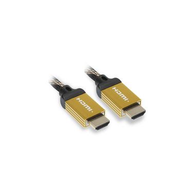 Matériels informatique câble HDMI 2.0 Ultra HD 4K Ethernet APM 590465 Mâle Mâle 1.80m infinytech Réunion 01