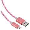 Câble Trendy BLUESTORK micro USB vers USB Rose