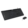 Pack clavier souris ADVANCE CLS-197U filaire USB