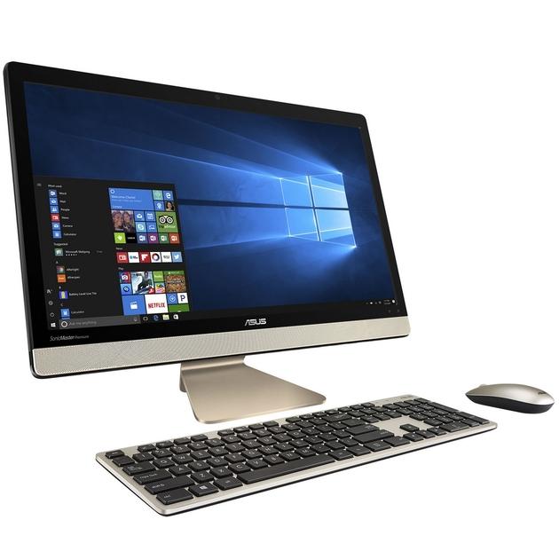 ordinateur all in one asus vivo v221icuk ba052t i3 21 5. Black Bedroom Furniture Sets. Home Design Ideas