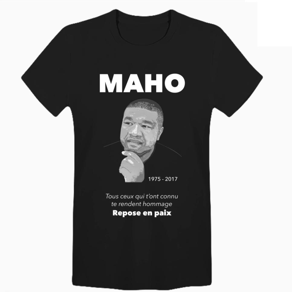 T-SHIRT maana en hommage à MAHO