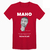 T-SHIRT-FACE-MAHO-Rouge