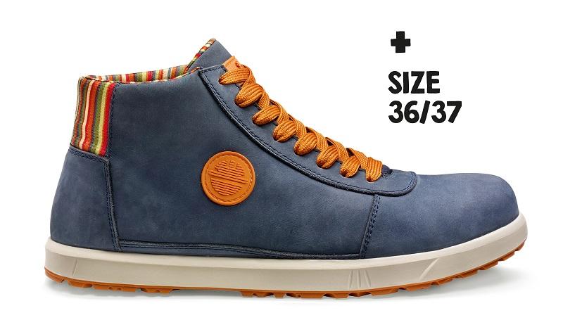 Chaussure de sécurité Haute BREEZE S3 SRC Bleu | 25021-800 | DIKE | Du 36 au 47
