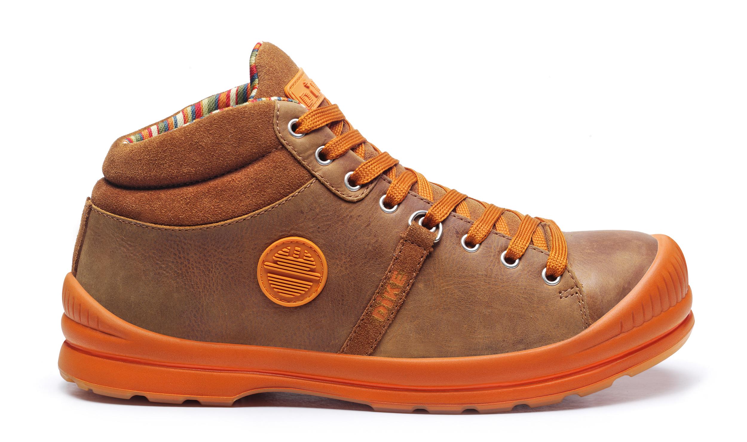 Chaussure de sécurité SUPERB MI-HAUTE BRÛLÉ S3 SRC 27021-191 DIKE - Du 38 au 47