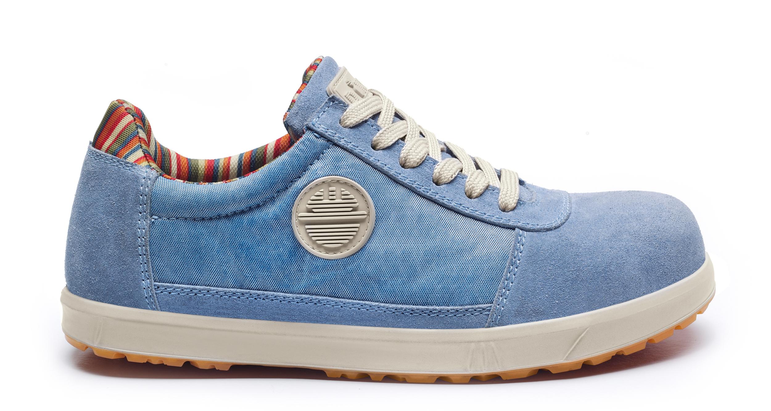 Chaussure de Sécurité Basse LEVITY LADY D BASSE S1P SRC Bleu Ciel | DIKE | 25616-805 | Du 35 au 42