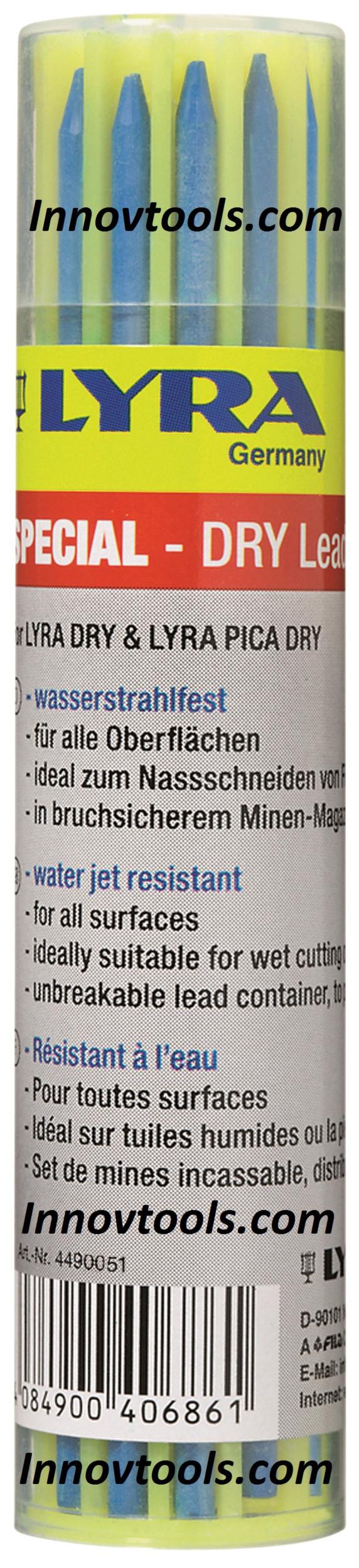 Recharge de 12 Mines LYRA DRY Bleues | 4490051