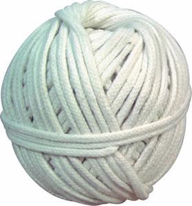 Cordeau Coton Tressé Blanc | Diamètre 1,5 | Pelote de 100 Grs