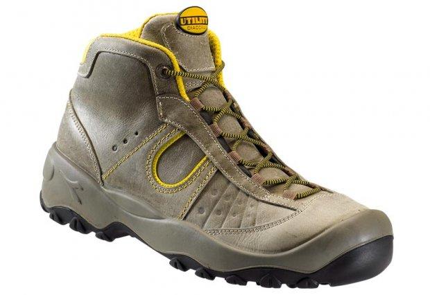 Chaussure de sécurité Haute HI RISING S3 SRA Gris Roche Lunaire | DIADORA UTILITY | Pointure 45
