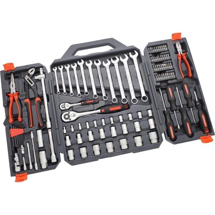 Valise outils CTK 110 de 109 pièces | CRESCENT