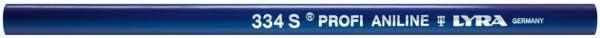 Crayon Bleu SPÉCIAL BOIS HUMIDE | PROFI 334 S original | LYRA | Longueur 24 cm | Réf. : 4352103