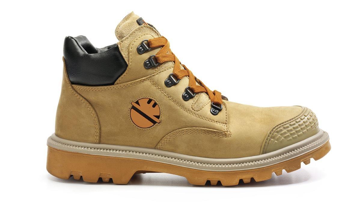 Chaussure de sécurité Haute DINT | S3 HRO SRC Miel | DIKE | 21021-709 | Du 38 au 47
