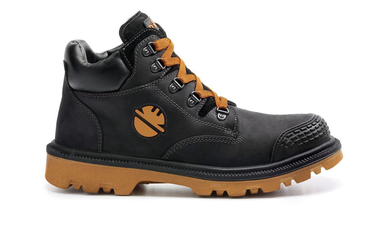 Chaussure de sécurité Haute DINT S3 HRO SRC Miel | DIKE