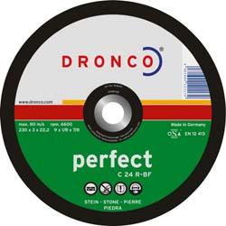 Disque à Tronçonner les matériaux C24 R | DRONCO | Forme Bombée