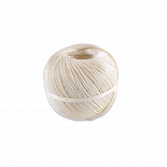 Ficelle LIN BLANCHE 35/2 | Ficelle alimentaire | Ficelle de Haute Qualité | En pelote de 100 Grs ou rolls de 1 Kg