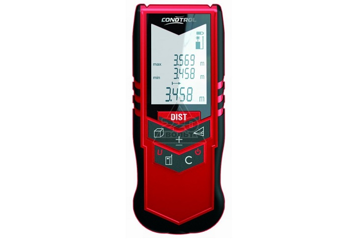 Lasermètre à affichage Digital grand écran LCD | Mesure 40 Mètres