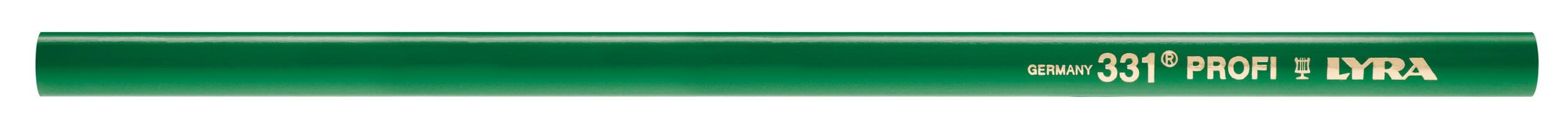 Crayon de Maçon Vert | PROFI 331 | LYRA | Marquage pierre et béton