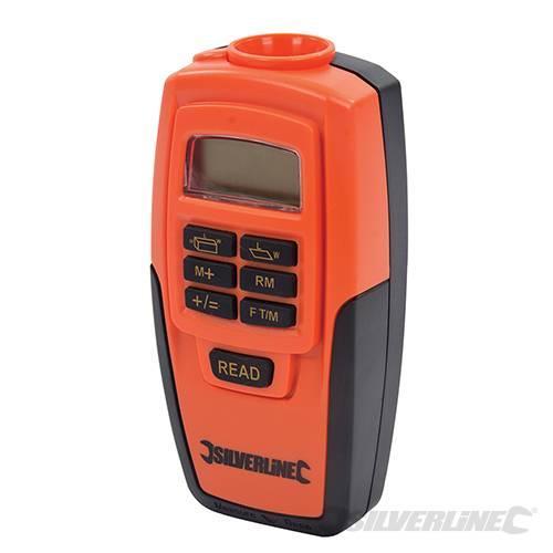Mètre numérique Laser | SILVERLINE | Mesure de 0,6 à 15 Mètres